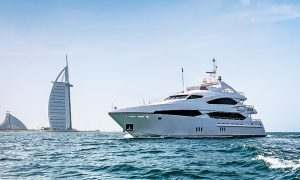 Best yachts available on rent in Dubai