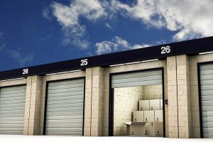 Safety precautions for a storage facility